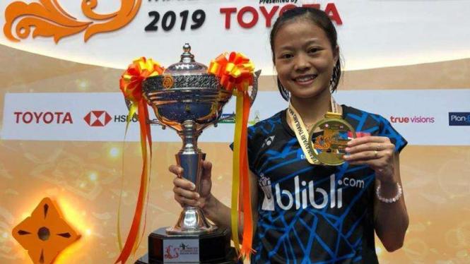 Tunggal putri Indonesia, Fitriani raih gelar Thailand Masters 2019