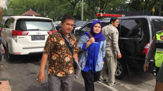 Bupati Bekasi nonaktif Neneng Hassanah Yasin