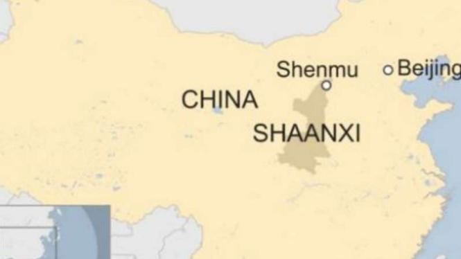 Tambang runtuh di China, 21 orang tewas