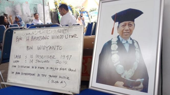 Pengamat Kepolisian Bambang Widodo Umar meninggal dunia