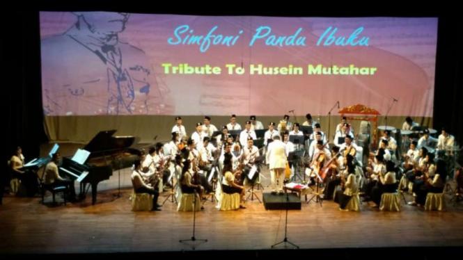 Konser Simfoni Pandu Ibuku, 'tribute to Husein Mutahar'