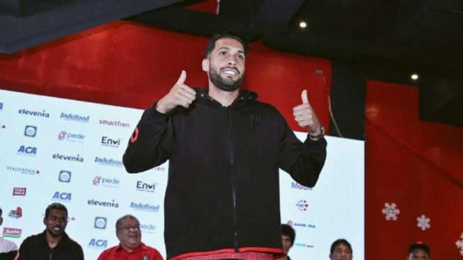 Perkenalan pemain baru Bali United