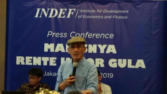 Ekonom Senior INDEF, Faisal Basri.