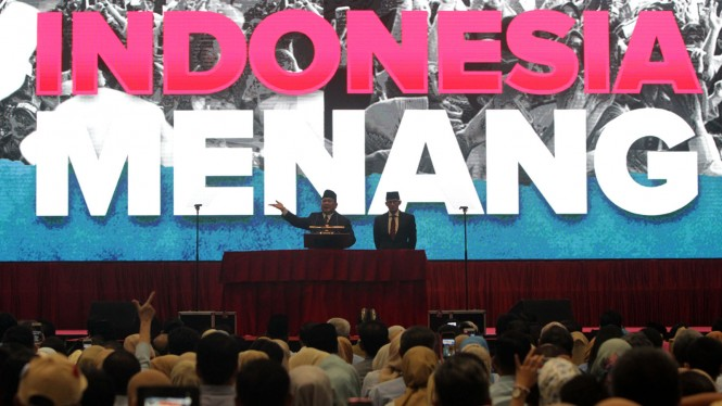 Pidato Kebangsaan Prabowo Subianto Indonesia Menang