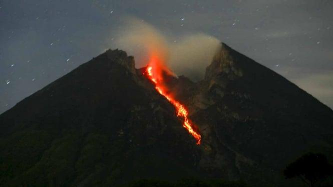 Lava Gunung Merapi