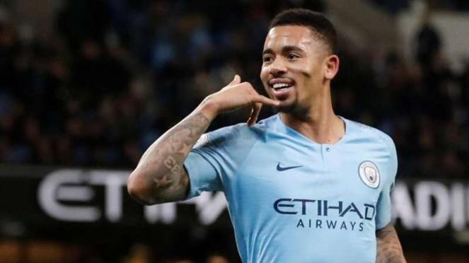 Penyerang Manchester City,  Gabriel Jesus