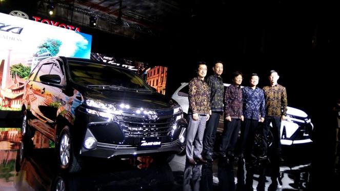 Peluncuran New Toyota Avanza 2019