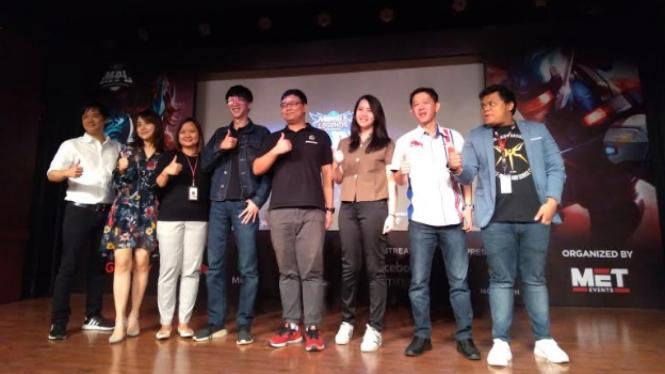 Pengembang Mobile Legends, Moonton menggelar acara di Jakarta.