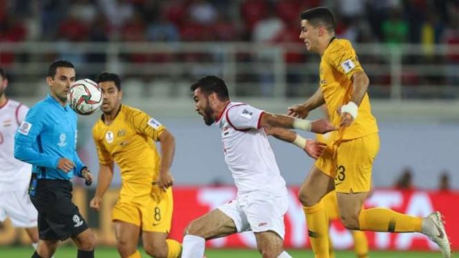 Pertandingan Piala Asia 2019 antara Australia kontra Suriah