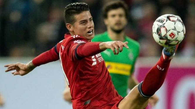 Gelandang serang Bayern Munich, James Rodriguez