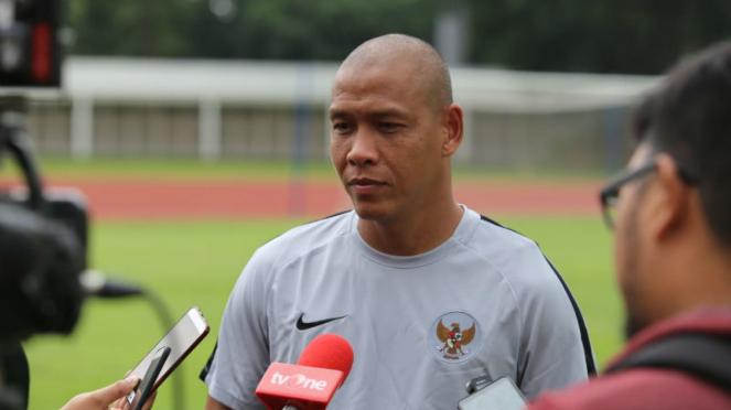 Asisten pelatih Timnas Indonesia U-22, Nova Arianto