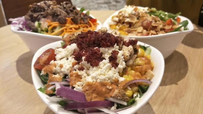Varian Salad Bercita Rasa Dunia Yang Menggoyang Lidah