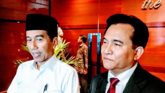 Jokowi Dalami Isu Yang Berkembang Di Media Hadapi Debat Pilpres