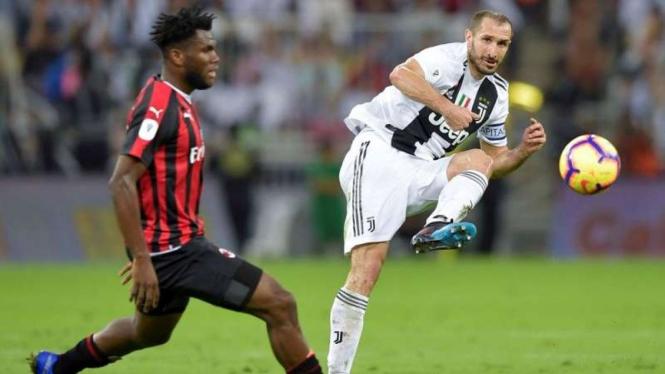Juventus Kontra Milan Sementara Masih Sama Kuat