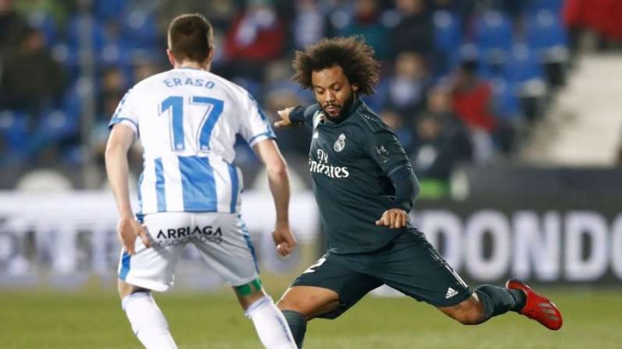 Bek Real Madrid, Marcelo (kanan)