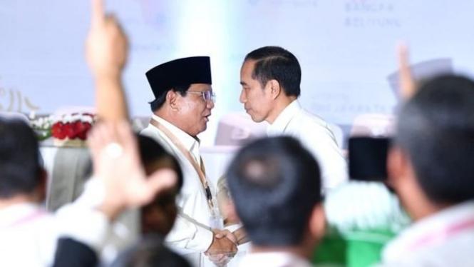 Elektabilitas Jokowi Dan Prabowo Stagnan, Golput Dikhawatirkan Naik