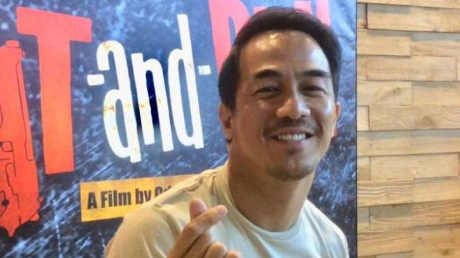 Joe Taslim Di Antara Andy Lau Dan Jackie Chan