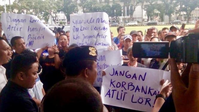 Kisruh Olahraga Sumatera Selatan Berlanjut