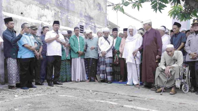 Wali Kota Hendi Upayakan Pembangunan Makam Habib Thoha Bin Yahya