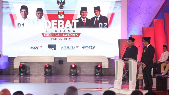 Debat Pertama Capres-Cawapres Pemilu 2019