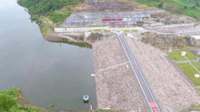 Digenangi, Bendungan Mila Siap Suplai Irigasi 1.689 Hektare Di Ntb