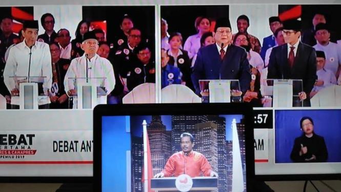 Deretan Meme Lucu Debat Pilpres Nurhadi Aldo Viva