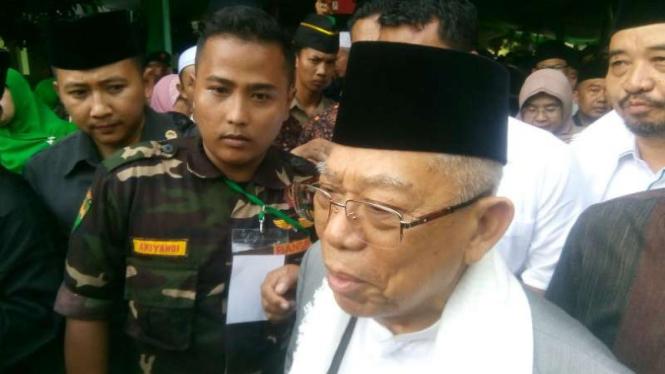 Abu Bakar Baasyir Akan Bebas, Ma'ruf Amin Sebut Jokowi Luar Biasa