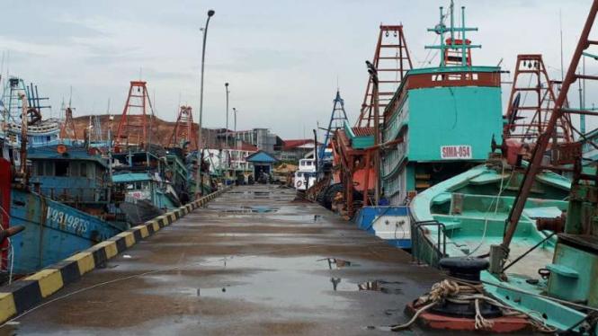 Dermaga Psdkp Batam Dipenuhi Kapal Asing Pencuri Ikan