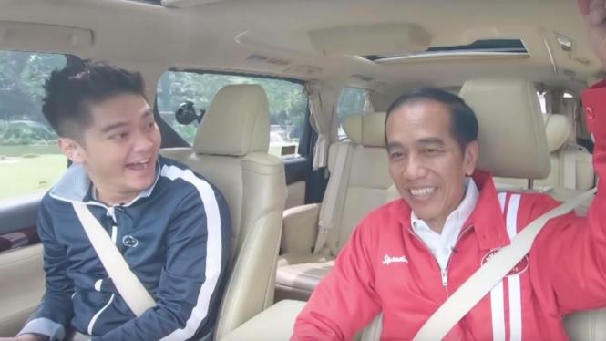 Jokowi Nyanyi Bohemian Rhapsody Queen Bareng Boy William