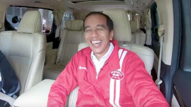 Jawaban Kocak Jokowi Ditanya Boy William Soal Justin Bieber