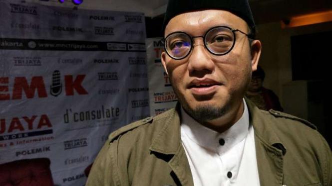 Koordinator jubir BPN Prabowo Subianto-Sandiaga Uno, Dahnil Anzar Simanjuntak