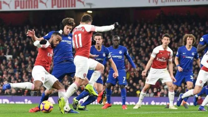 6 Fakta Menarik Usai Arsenal Pecundangi Chelsea