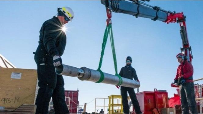 Bukti Adanya Kehidupan Di Danau Antartika Terdalam
