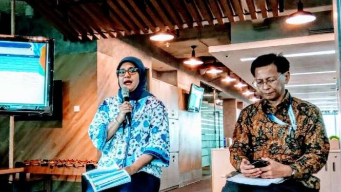 Head of Mandiri Institute, Moekti Soejachmoen. | Rifan Financindo