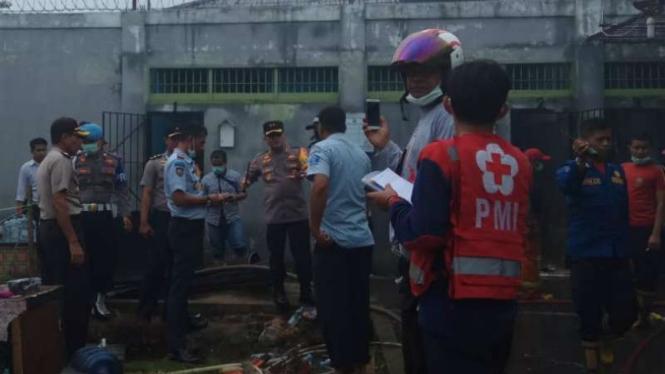 Polisi Periksa 20 Saksi Terkait Insiden Kebakaran Lapas Biaro Sumbar