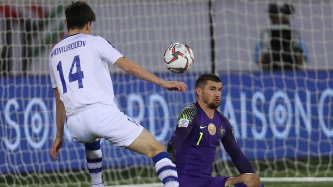 Pertandingan Australia vs Uzbekistan