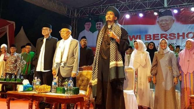 Ditunjuk Jadi Cawapres, Ma'ruf Sebut Jokowi Mencintai Ulama Dan Santri
