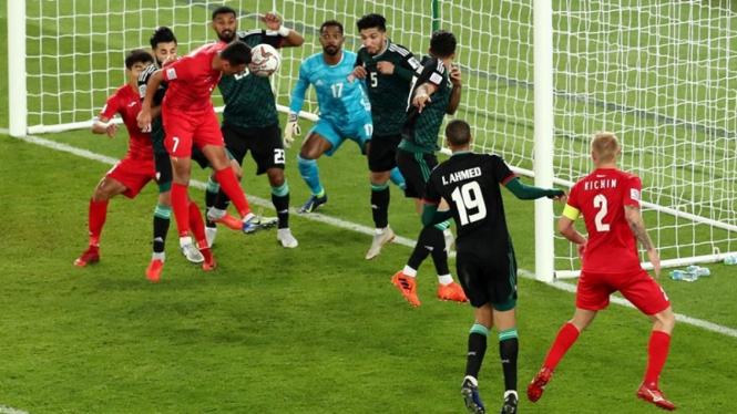 Timnas Uni Emirat Arab di Piala Asia 2019.