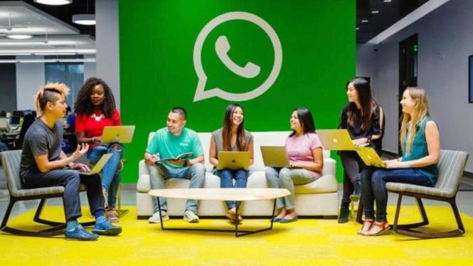 Suasana kantor WhatsApp