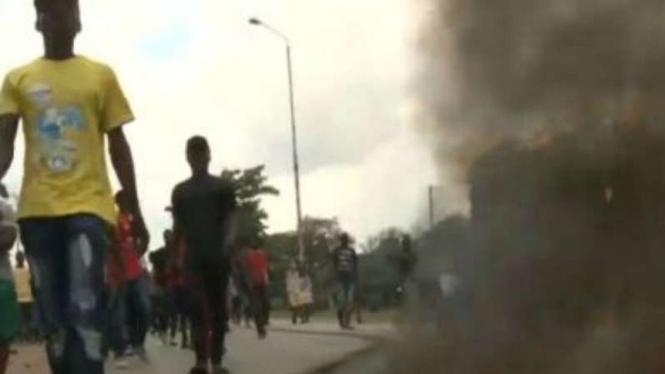 Presiden Zimbabwe Batal Ke Pertemuan Ekonomi Davos Gara-gara Demo