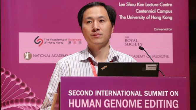 Dr. He Jiankui, ilmuwan yang sukses mengedit dan membuat bayi.