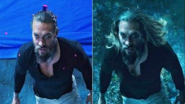 'Behind the Scene' film Aquaman.