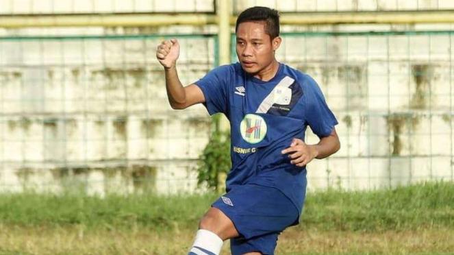 Gelandang Barito Putera, Evan Dimas Darmono.