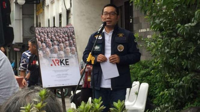 Dilaporkan Ke Bawaslu, Ridwan Kamil Klarifikasi Soal Orasi Politiknya
