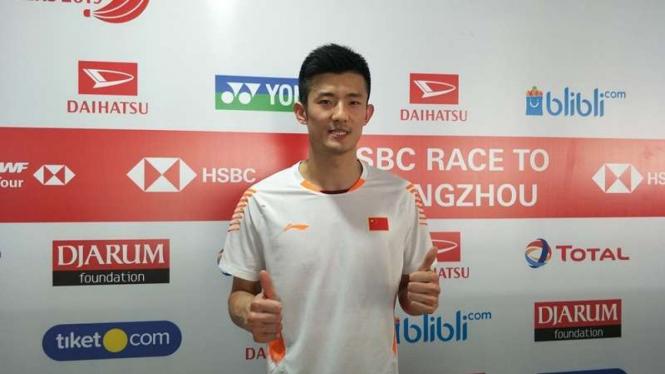 Tunggal putra unggulan China, Chen Long