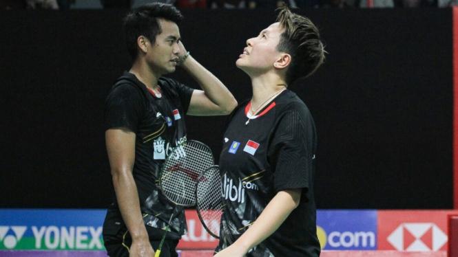Tontowi Ahmad/Liliyana Natsir ke Semifinal Indonesia Masters 2019