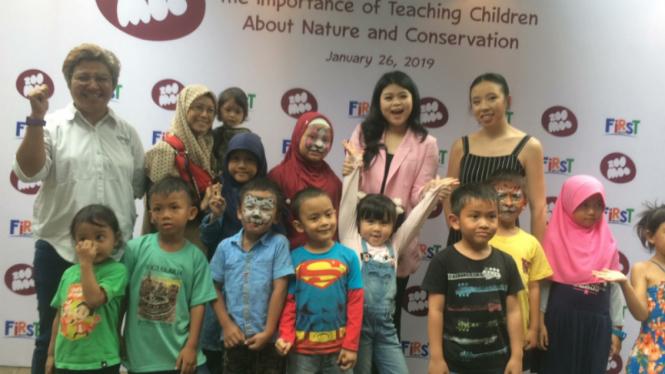 Acara ZooMoo dan Yayasan Konservasi Alam Nusantara.