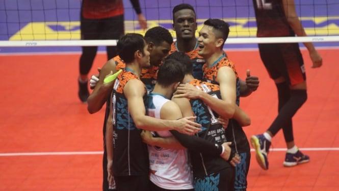 Tim putra Jakarta BNI 46 di Proliga 2019