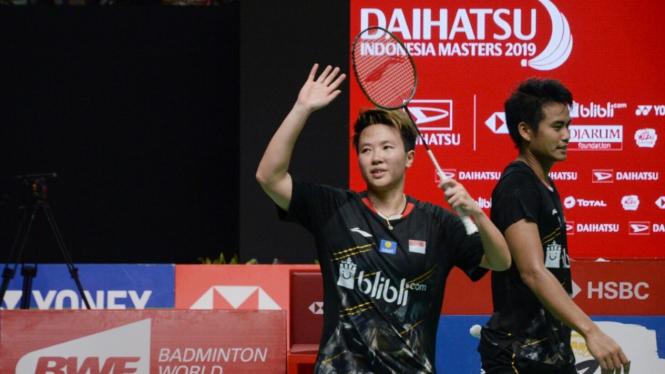Tontowi Ahmad/Liliyana Natsir Final Indonesia Masters 2019