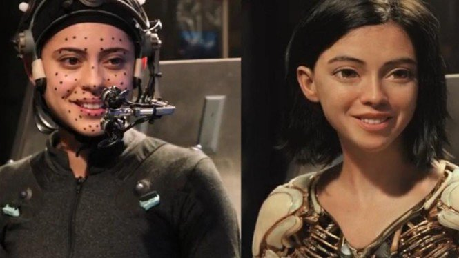 Pemeran Alita Battle Angel Syok Lihat Wujud Dirinya Dalam Film